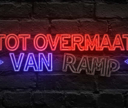 Tot overmaat van ramp